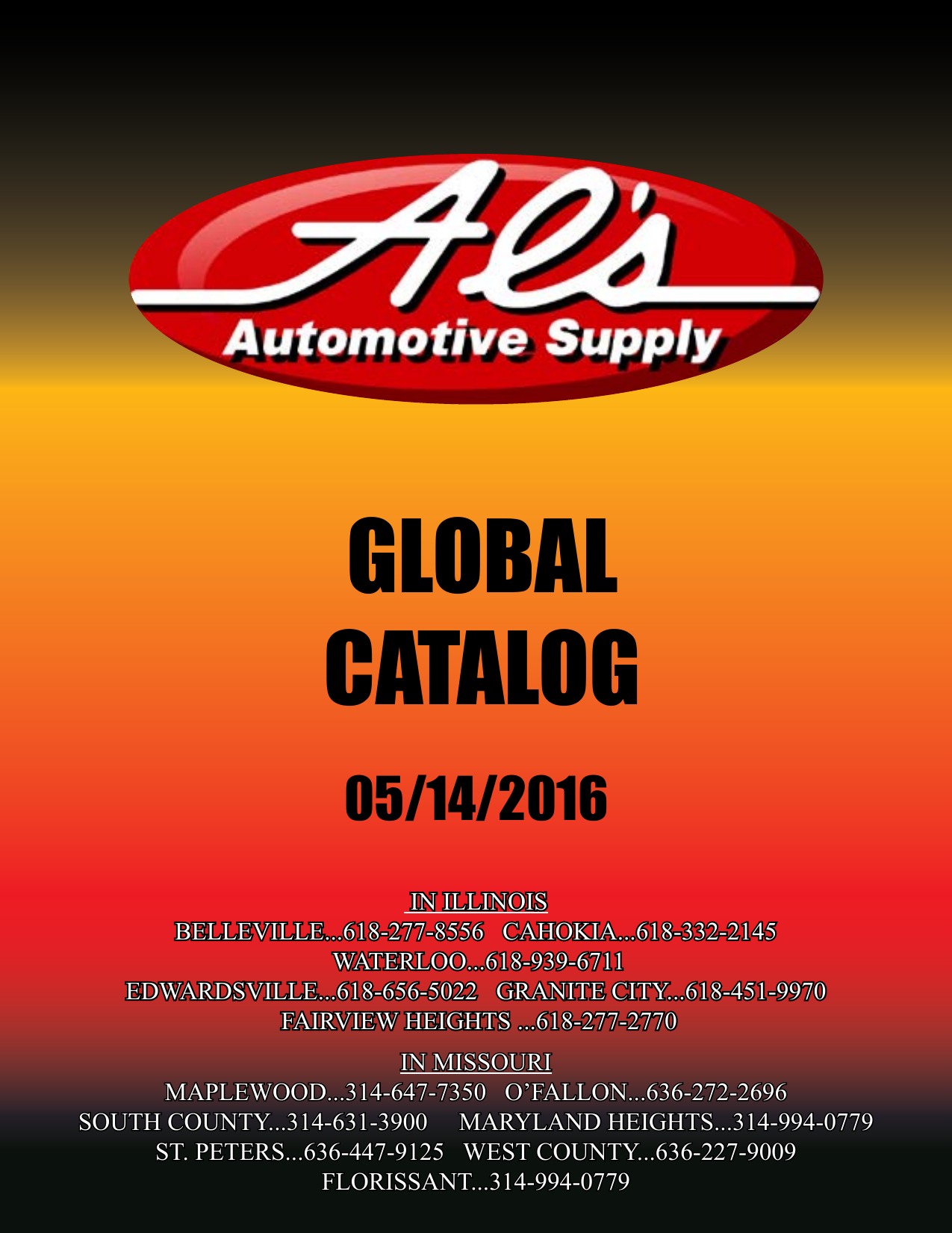 Global Catalog Als Automotive Supply Xl Data Hodrod Rp 50000