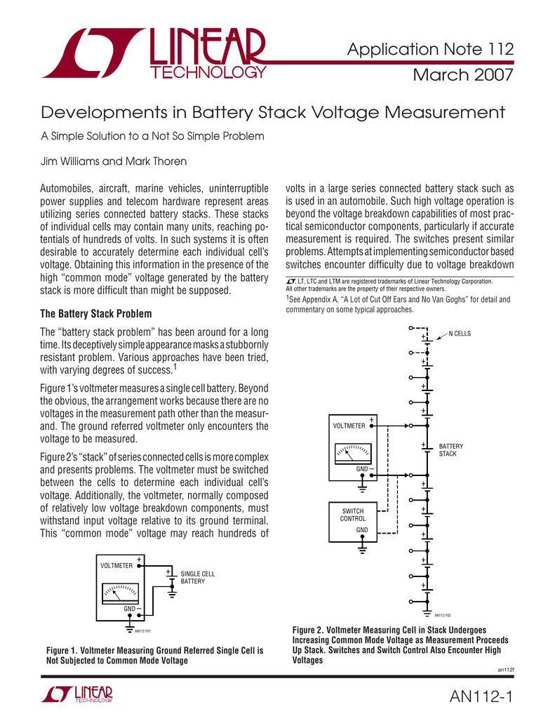 Developments In Battery Stack Voltage Measurement Op Amp Offset Problem Electrical Engineering 018737422 1 0e132288490b6c498cb40496ba1bbe20