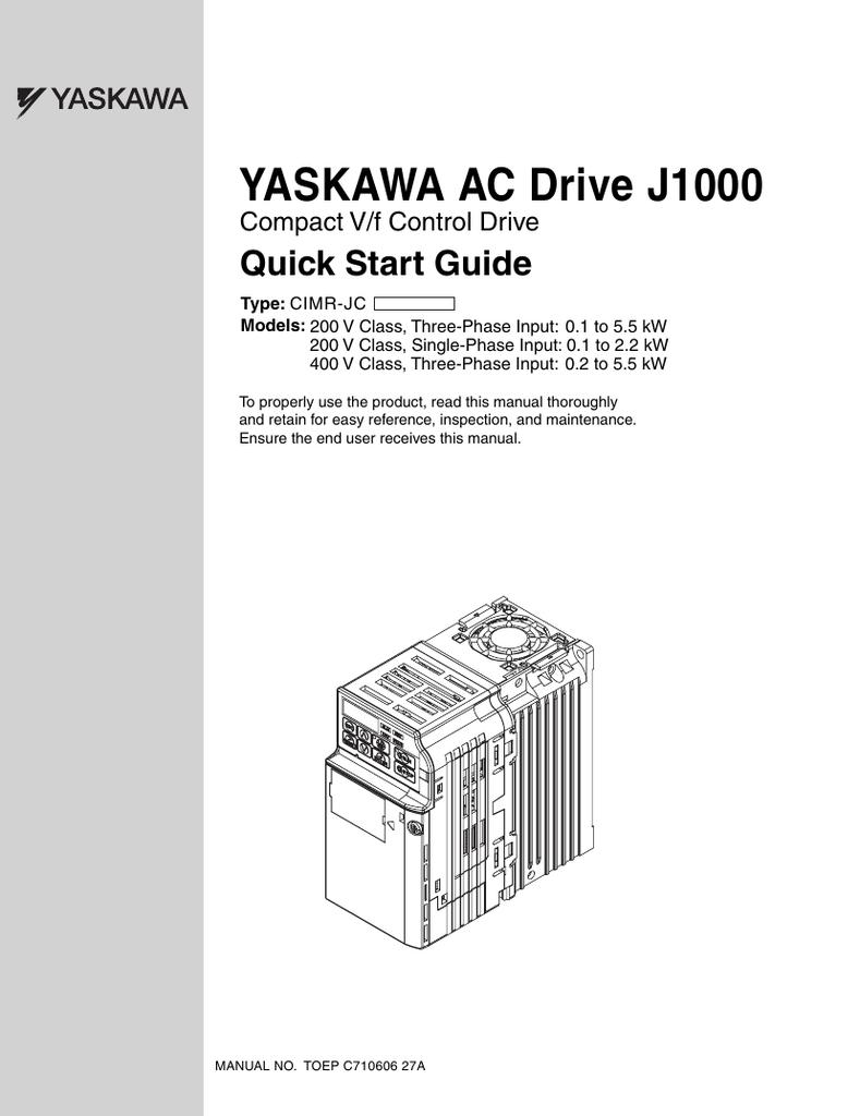 Yaskawa J1000 Wiring Diagram Qubee Quilts Vfd Diagrams Schematics Ac Drive Inverter Supermarket