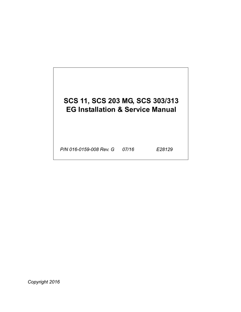 Scs 11 203 Mg 303 313 Eg Installation Raven Cable Wiring Diagrams