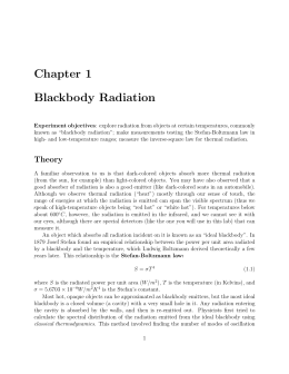 Black body radiation and the ultraviolet catastrophe essay