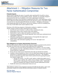 Mitigation Measures for Two Factor Authentication