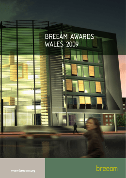 BREEAM AWARDS WALES 2009