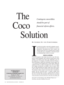 The Coco Solution - The International Economy