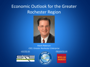 Economic Outlook for the Greater Rochester Region