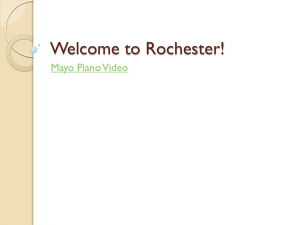Welcome to Rochester!