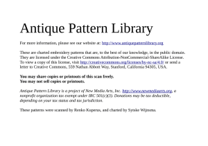 PDF - Antique Pattern Library