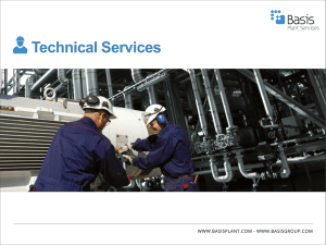 Technical Services - Basis Plant Services