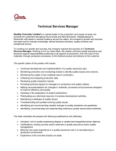 Technical Services Manager