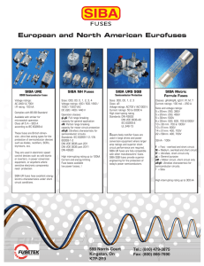 European and North American Eurofuses