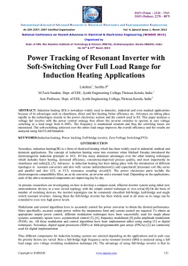 Power Tracking of Resonant Inverter with Soft-Switching