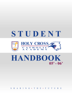 Holy Cross Catholic Academy - the York Catholic District School Board