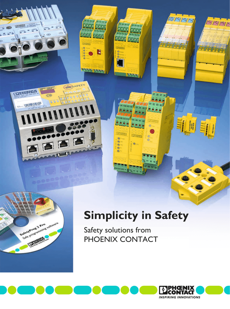 Phoenix Safety Relay Wiring Examples. . Wiring Diagram on