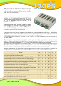 Power supplies - S PoweR product sro