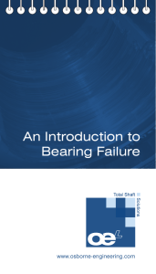 An Introduction to Bearing Failure