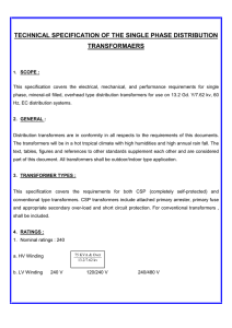 Technical specification ( pdf file )