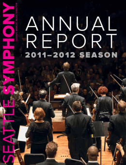 ANNUAL REPORT - Seattle Symphony