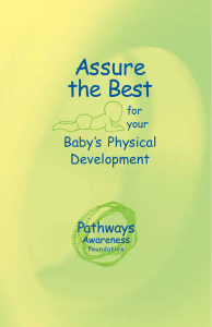 Assure the Best for your Baby`s Physical Development