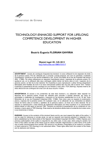 Technology-Enhanced Support for Lifelong Competence