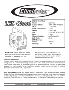 LED Cloud () - Eliminator Lighting