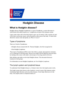 Hodgkin Disease - American Cancer Society