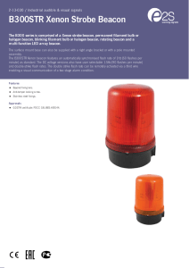 B300STR Xenon Strobe Beacon