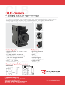 CLB-Series - Carling Technologies