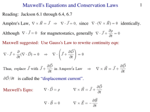 Maxwell`s Equations and Conservation Laws