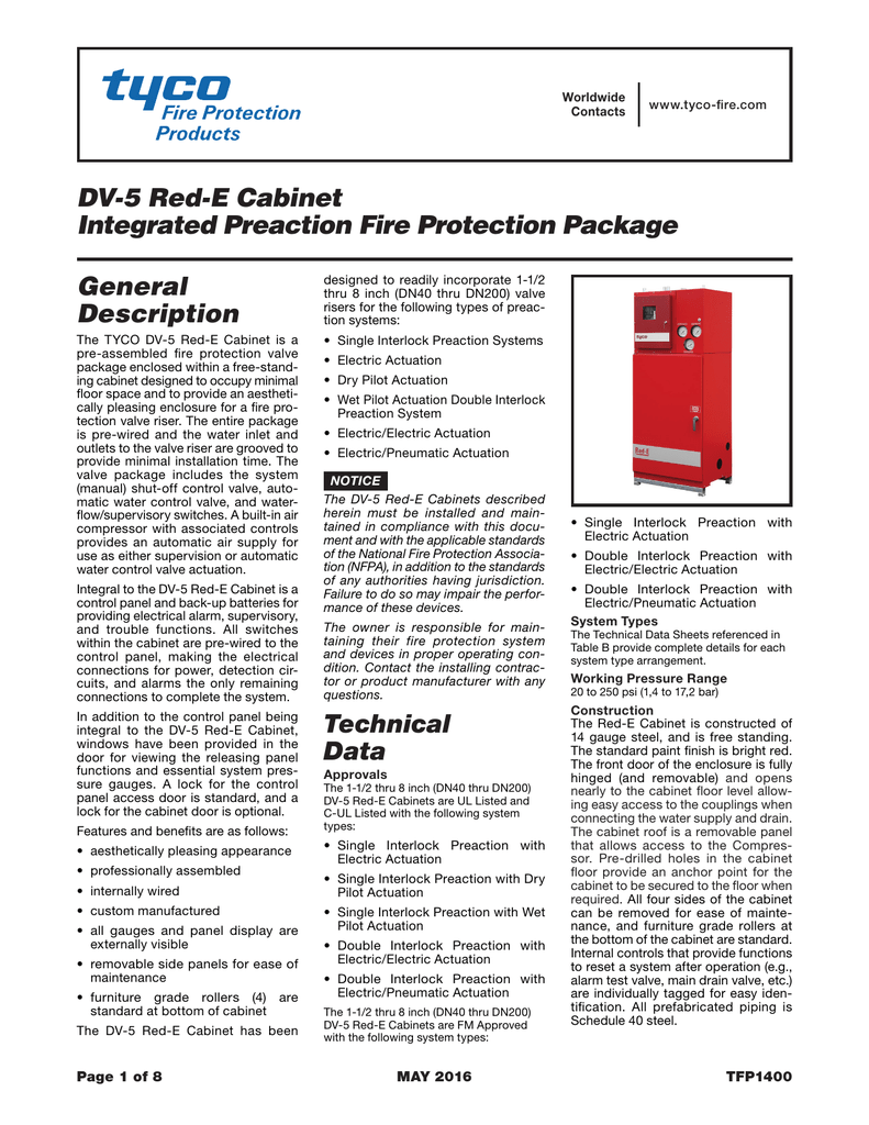 PDF 477kb - Tyco Fire Products