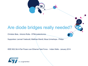 Are diode bridges really needed