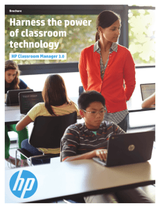 Harness the power of classroom technology