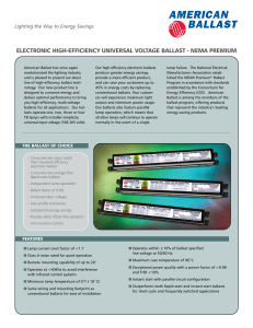 electronic high-efficiency universal voltage