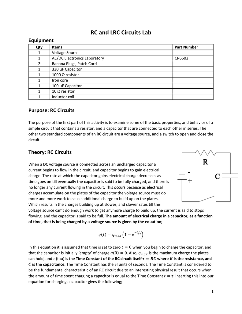 Worksheet Ac Dc Theory Circuits