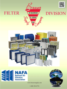Filter - Brauer Supply Company