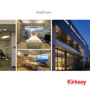 Healthcare - Kirksey Architecture