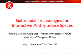 TAUCHI presentation