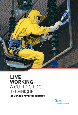 Live working - A cutting-edge technique