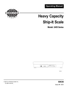 Heavy Capacity Ship-It Scale