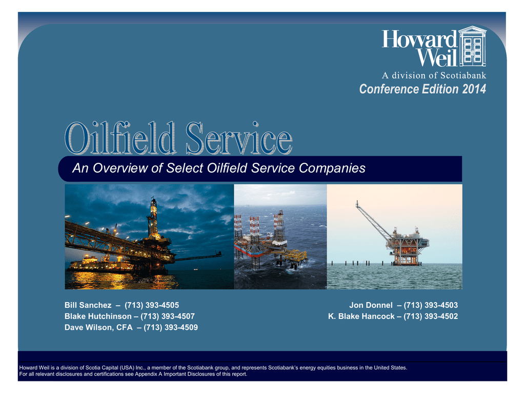 Oilfield Services Factbook