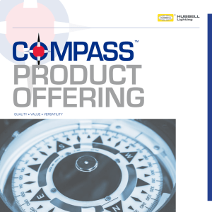 Compass® LED Product Offering