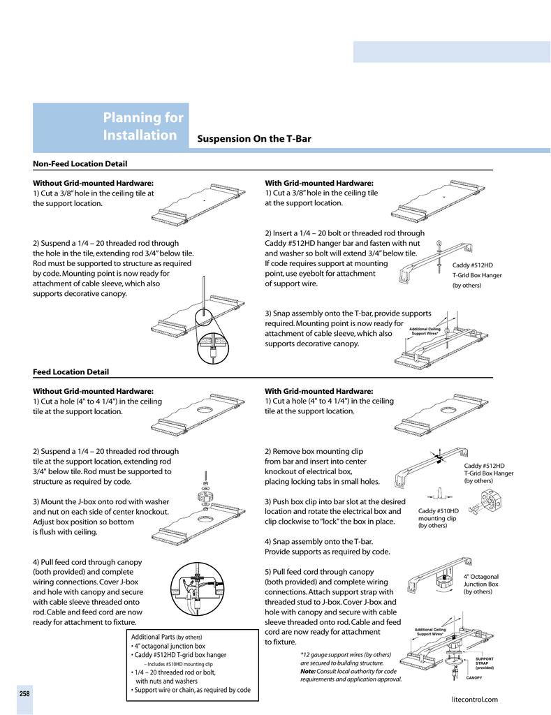 sc 1 st  studylib.net & Planning for Installation