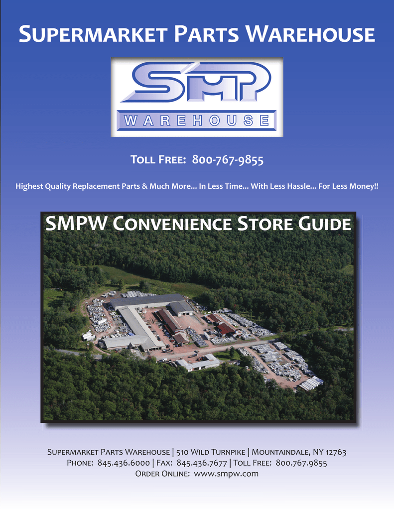 Convenience Store Guide Indd Supermarket Parts Warehouse