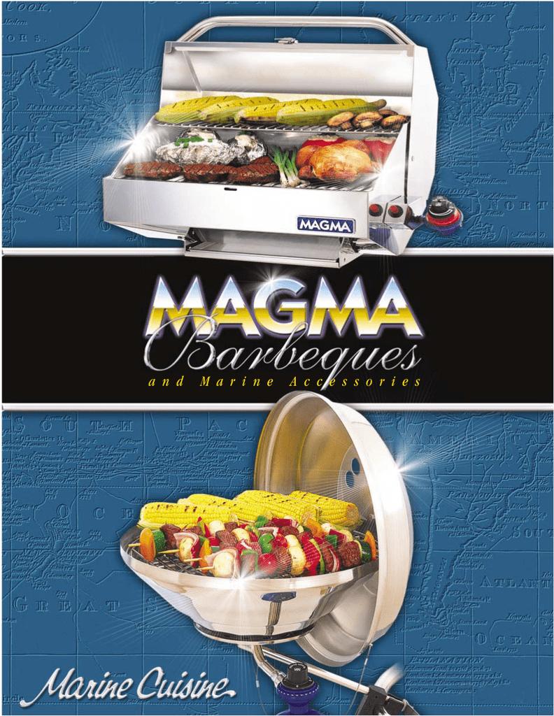 Magma Grills A10-990Jb Newport Grill Cover Sunbrella Black