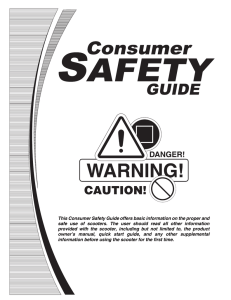 Consumer Safety Guide