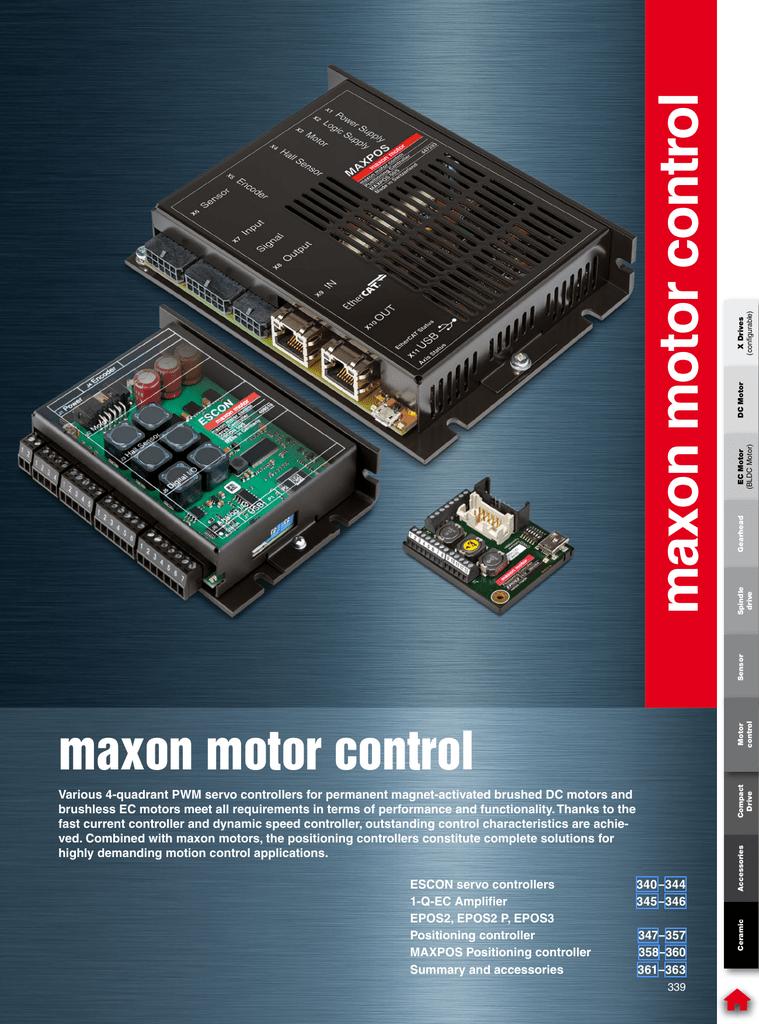 MAXON MOTOR 205679 4-Q-EC