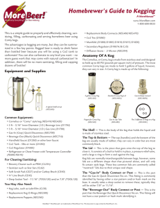 Homebrewer`s Guide to Kegging