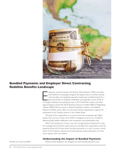 Bundled Payments and Employer Direct Contracting Redefine