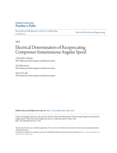 Electrical Determination of Reciprocating - Purdue e-Pubs