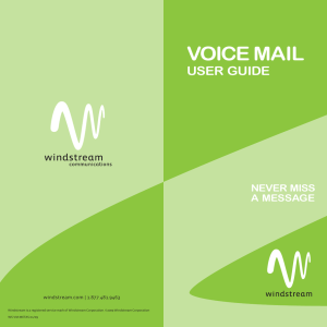Voice Mail User Guides