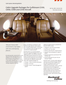 MB-Cabin Upgrade for Gulfstream 350-450-500